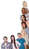 Diverse group of — Stock Photo