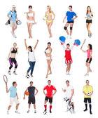 Various sports — Stock Photo