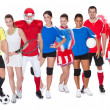 Large group of sports — Stock Photo