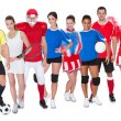 Large group of sports — Stock Photo #25452335