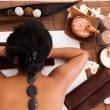 Young Woman Relaxing In A Spa Treatment - Stock Photo