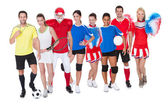 Large group of sports — Stok fotoğraf