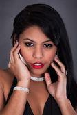 Retrato de mujer joven — Foto de Stock