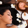 Young Woman Relaxing In A Spa — Stock Photo #26249597