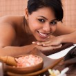 Young Woman Relaxing In A Spa — Stock Photo #26408495