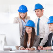Architect Working On Project — Stock Photo #27055363