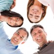 Happy Making Huddle — Stock Photo