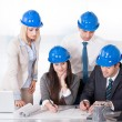 Stock Photo: Architect Working On Project