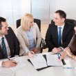Portrait Of Business Team — Stock Photo