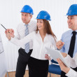 Architects Discussing Project — Stock Photo #27487009