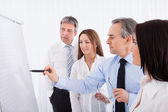 Businesspeople Discussing Project — Stock Photo