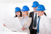 Architect Working On Project — Stock Photo