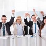 Portrait Of Happy Business Team — Stock Photo #27663627