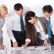 Stock Photo: Business Working Together