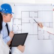 Architects Discussing Project — Stock Photo #27663867