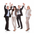 Portrait Of Successful Business Group — Stock Photo