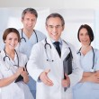 Doctor Extending His Hand To Shake — Stock Photo