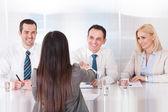 Business Having A Handshake — Stock Photo