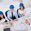 Architects Working On Project — Stock Photo