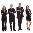 gruppo di businesspeople felice — Foto Stock