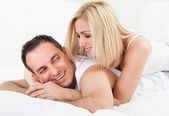 Mid-adult Happy Couple Smiling Together — Stock Photo