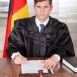 Male Judge In Courtroom — Stock Photo #28608139