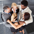 Group Business People Making Huddle — Stock Photo