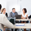 Group Of Businesspeople Discussing Together — Stock Photo #29295041