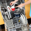 Woman Putting Dishes In The Dishwasher — Stock Photo #29295603