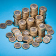 Stack Of Golden Coin — Stock Photo