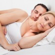 Couple Sleeping In Bed — Stock Photo #29747761