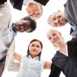 Businesspeople Making Huddle — Stock Photo #29747781