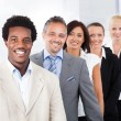 Happy Multiracial Businesspeople — Stock Photo #29747849