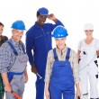 Stock Photo: People Representing Diverse Professions