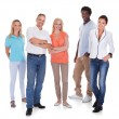 Multi-racial Group Of People — Stock Photo