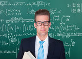 Portrait Of Male Professor — Stock Photo