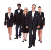 Multi-racial Group Of Business People — Stock Photo