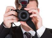 摄影师捕获照片 — 图库照片