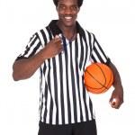Happy Basketball Referee — Stock Photo