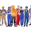Group Of Construction Workers — Stok Fotoğraf #31294839
