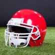 Stock Photo: Red Sports Helmet