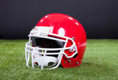 Red Sports Helmet — Stock Photo