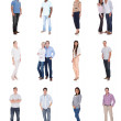 Diverse group of people — Stock Photo