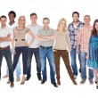 Stock Photo: Group Of People Dressed In Casual