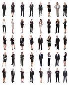 Grupp av flera etniska företagare — Stockfoto