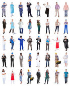 Group Of People From Various Professions — Stock Photo