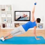 Young Woman Exercising — Stock Photo #34293527