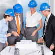 Architect Working Together — Stock Photo