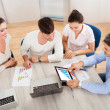 Business Team In Office Meeting — Stock Photo #34689895
