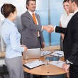 Stock Photo: Businesspeople Shaking Hands